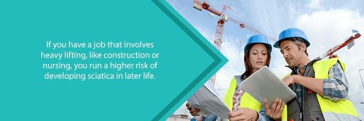 construction workers, at higher risk for sciatica