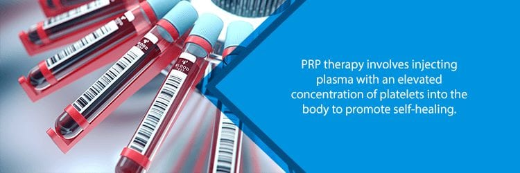 blood in centrifuge for prp therapy